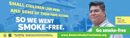 Smoke-free housing billboard #2