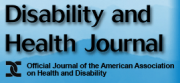 Disability and Health Journal logo