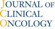 Logo for Journal of Clinical Oncology, which has a publication from a Health Communication Core client
