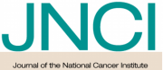 Logo for Journal of the National Cancer Institute, which has a publication from a Health Communication Core client
