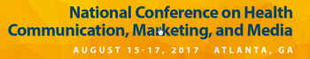 National Conference on Health Communication, Marketing, and Media logo