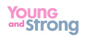 Dr. Ann Partridge's Young and Strong logo