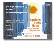 Poster design for MGH depression research recruitment