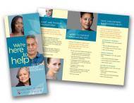 Image of Dana-Farber patient navigator brochure
