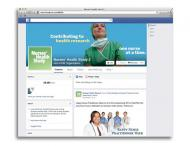 Screenshot of Nurses' Health Study 3's Facebook page--an example of a research retention strategy